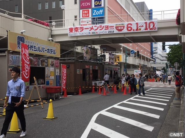 「東京ラーメンショー in 新潟 2018」会場からLINE LIVE
