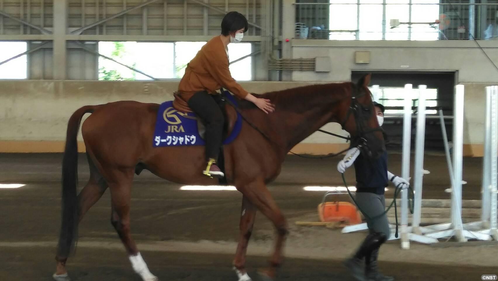 憧れの重賞馬に騎乗