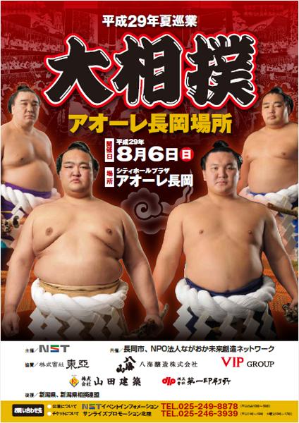 平成29年夏巡業 大相撲アオーレ長岡場所