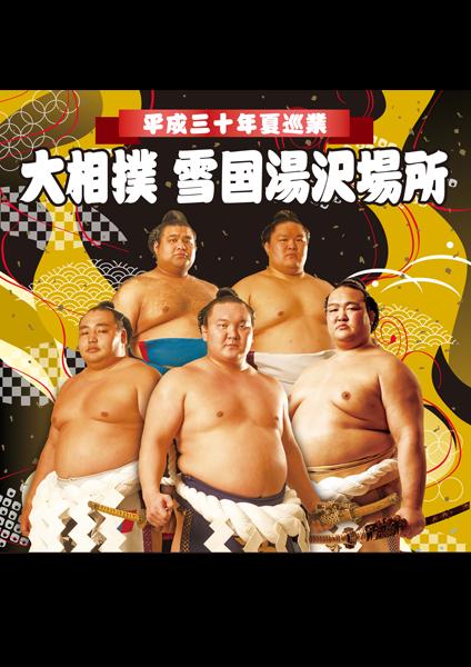 平成30年夏巡業 大相撲雪国湯沢場所